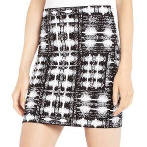 BCBGMaxAzria Simone Ikat Power Skirt